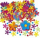 Конфети - Разноцветни  цветчета за Рожден Ден