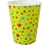 Картонени чаши със звездички