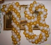 Букви и цифри от балони