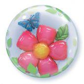 "Балон цвете с пеперуда в балон    24""- 61 см"