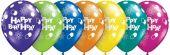 Балон Happy Birthday (Честит Рожден Ден) 11'' (28см.)