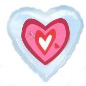 """Сърце със сърца  18""""- 45 см."""