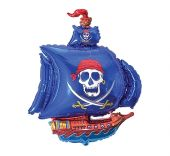 "Пиратски Кораб - син  24""- 60 см."