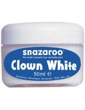 Клоунска бяла боя за лице 50мл. / Snazaroo Clowning White Makeup (50ml)