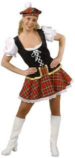 Костюм - Секси Шотландско момиче