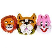 Пластмасови детски маски на животни