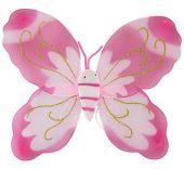 Криле на пеперуда - розови
