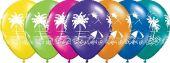 Балони Тропически изглед  ( Tropical Vistas ) - асорти 11'' (28см.)