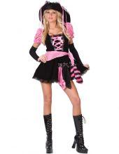 Карнавален костюм Розова пиратка Секси