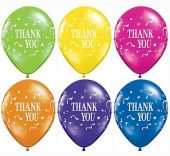 Балони с надпис Thank You  11'' (28см.) асорти
