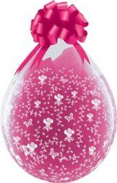 """Балони за подаръци на цветя 18"""" - 45см"""