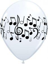 Балони с ноти  11'' (28см.)
