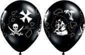 Балони Пиратска карта на съкровище 11'' (28см.)