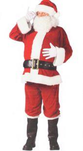 Карнавален костюм -   Дядо Коледа / Santa Claus лукс