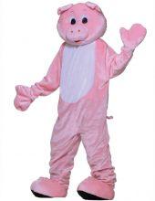Карнавален маскот костюм - Прасе