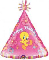"""Балон с Туити и надпис Happy Birthday  18""""- 45 см."""