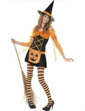 Карнавален костюм - Тиквена вещица