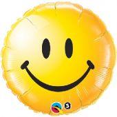 "Усмихнато Лице жълто 18""- 45 см."