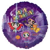 "Фолиен балон с надпис  Happy Halloween  18""- 45 см."