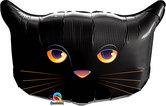 """Голям фолиен балон Черна Котка 30""""-76см"""