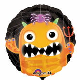 """Фолиен балон с Хелоуинско чудовище 18"""" - 46см."""