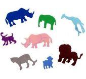 Конфети от пяна - Различни форми и цветове