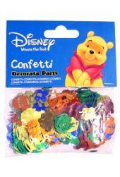 Конфети - Разноцветни фолийни Мечо Пух 14гр.