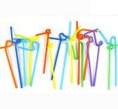 Разноцветни Сламки 100бр