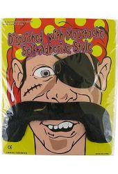 Пиратски мустаци  и пач за окото