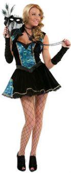 Карнавален костюм  Паун-жена