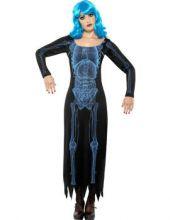 Карнавален костюм -  Скелетка  X Ray