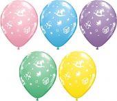 Балони за Бебе с бебешки мотиви  асорти 11'' (28см.)