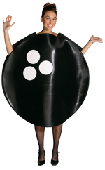 Костюм - момиче топка за боулинг