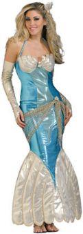 Костюм Синя бляскава русалка