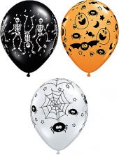 Балони  Halloween 11'' (28см.)