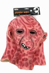 Страшна латексова маска за Halloween