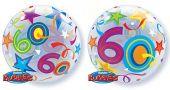 "Балон с числото 60г. /22""- 56 см/"