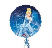 "Фолиен балон Cinderella Пепеляшка 18""- 45 см."