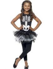 Карнавален костюм Скелет с пачка