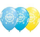 Балон с надпис Baby Boy 11'' (28см.)