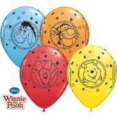 Балон с Мечо Пух Животинки - Winnie Pooh  11'' (28см.)