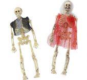 Висящи скелети двойка 15см.