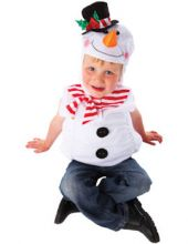 Карнавален костюм Снежнен човек