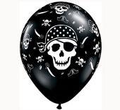 Балон Пиратски череп 11'' (28см.)