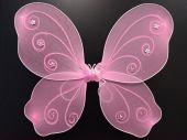 Криле на пеперуда розови