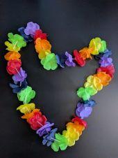 Хавайски многоцветен гердан