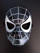 Маска черен Спайдермен за деца - Spiderman черен