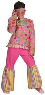 Детски костюм - Хипи от 50s