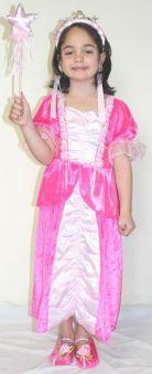 Розова принцеса - костюм