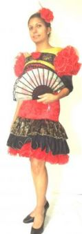 Карнавален костюм - Испанка
